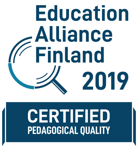 EDUCATION ALLIANCE FINLAND CERTIFIED 2019